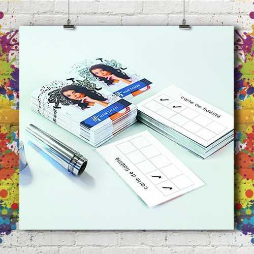 Studio Pitch Art Impression Kit Carte Fidelite