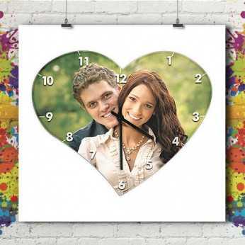 Horloge Coeur