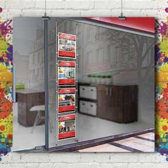 Kit Porte Affiche Immo