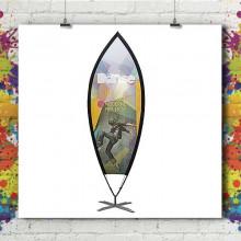 Beach Flag Cup