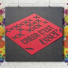 Carte Double/Triple - Découpe Laser