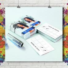 Kit Carte Fidélité Double Carré