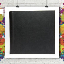 Livre Photo Black 20x20