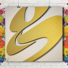 Lettre & Logo 3D Aluminium