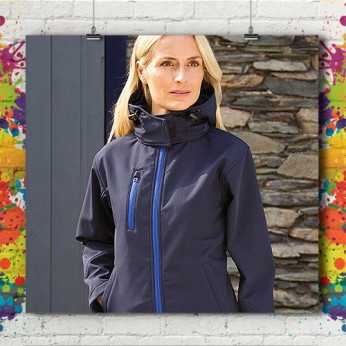 Studio Pitch Capuche Rrvcfruqa Art · Femme Softshell Veste E9Ie2WDHY