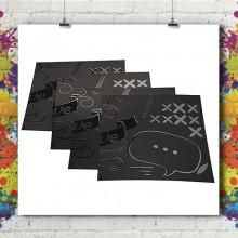 Carte Visite - Soft Touch + Vernis Sélectif