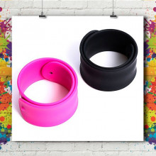 Bracelet Silicone Slap Wrap