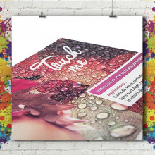 Marque Page Soft Touch & Vernis 3D
