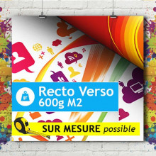 Bâche Recto/Verso 600g