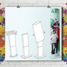 Totem Carton Compact