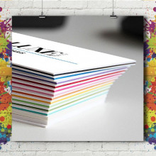 Carte Visite - Multicolor 1000g
