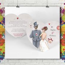 Carte Simple - Coeur