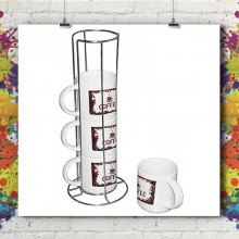 Set 4 ou 2 Mugs