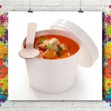 Gobelet Carton Pot à Soupe