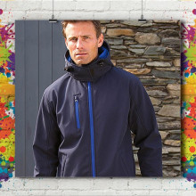 Veste Softshell Capuche - Homme