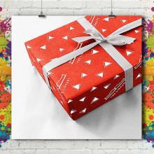 Papier Cadeau Feuille
