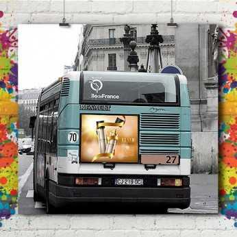 Affiche Urbain Bus