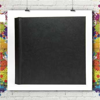 Livre Photo Black 20x20 Perforelié