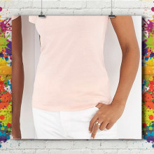 T-Shirt MC Col Bâteau Standard - Femme