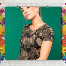 T-Shirt MC Army Eco - Femme
