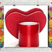 Miroir Coeur Tissu