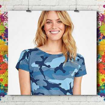 T-Shirt Army Standard Femme