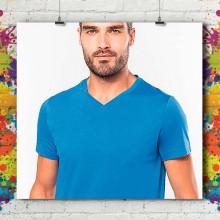 T-Shirt MC Col V Premium - Homme