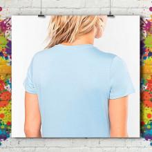 T-Shirt MC Col V Premium - Femme