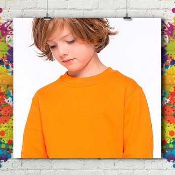 Sweat Shirt Col Rond Premium - Enfant