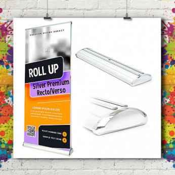 Roll'up Silver Premium Recto/Verso