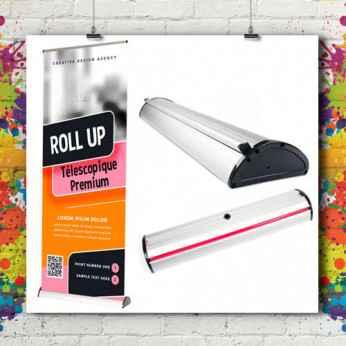 Roll'up Télescopique Premium